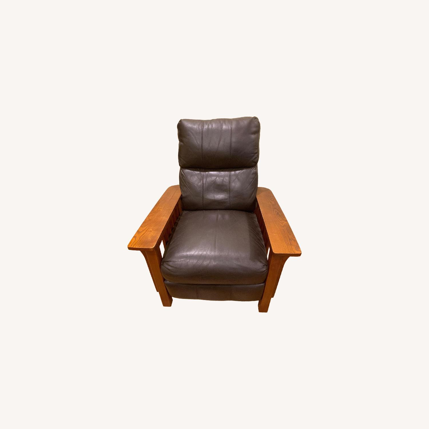 Harrison Mission Style Recliner - image-0
