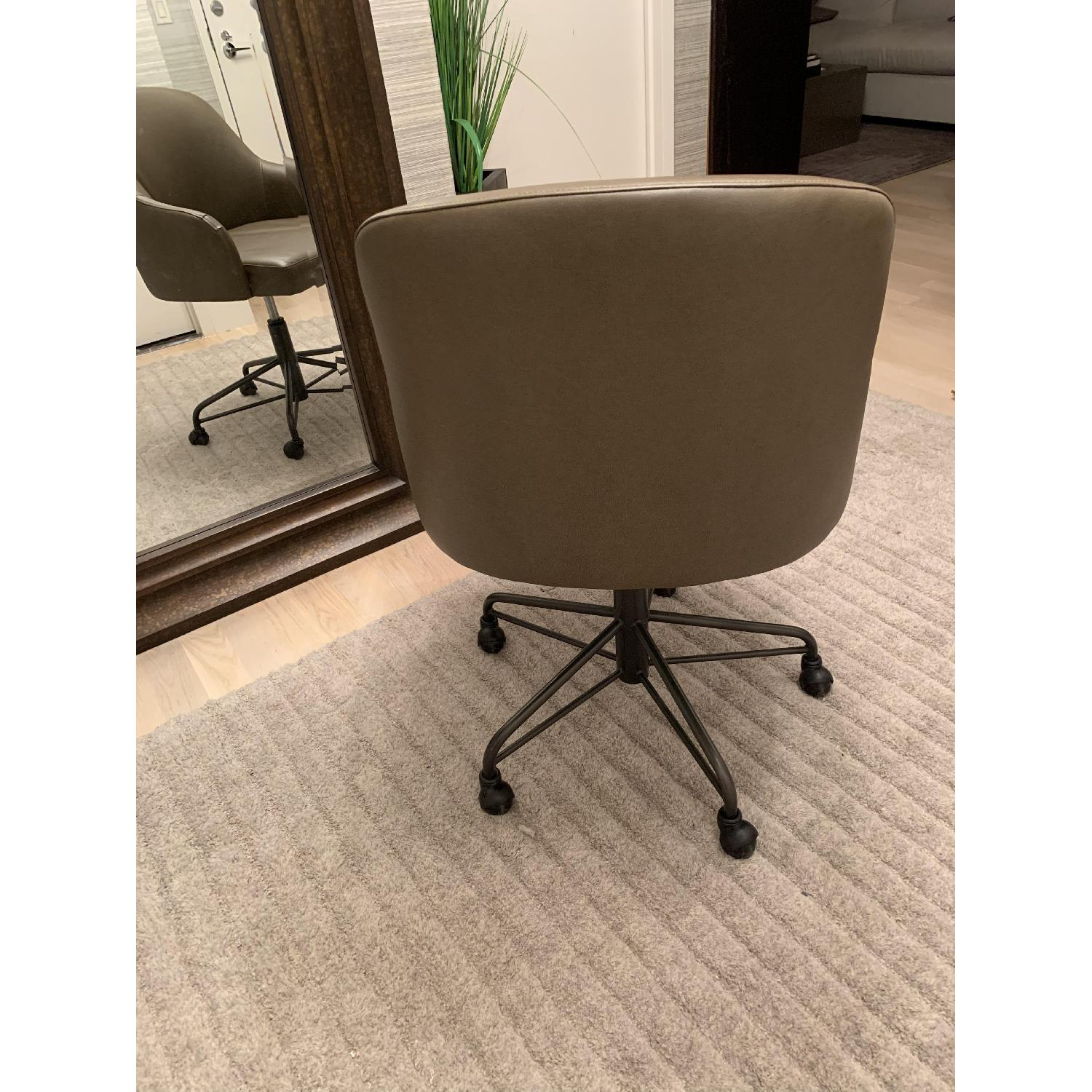West Elm Valentina Faux Leather Office Chair - image-2