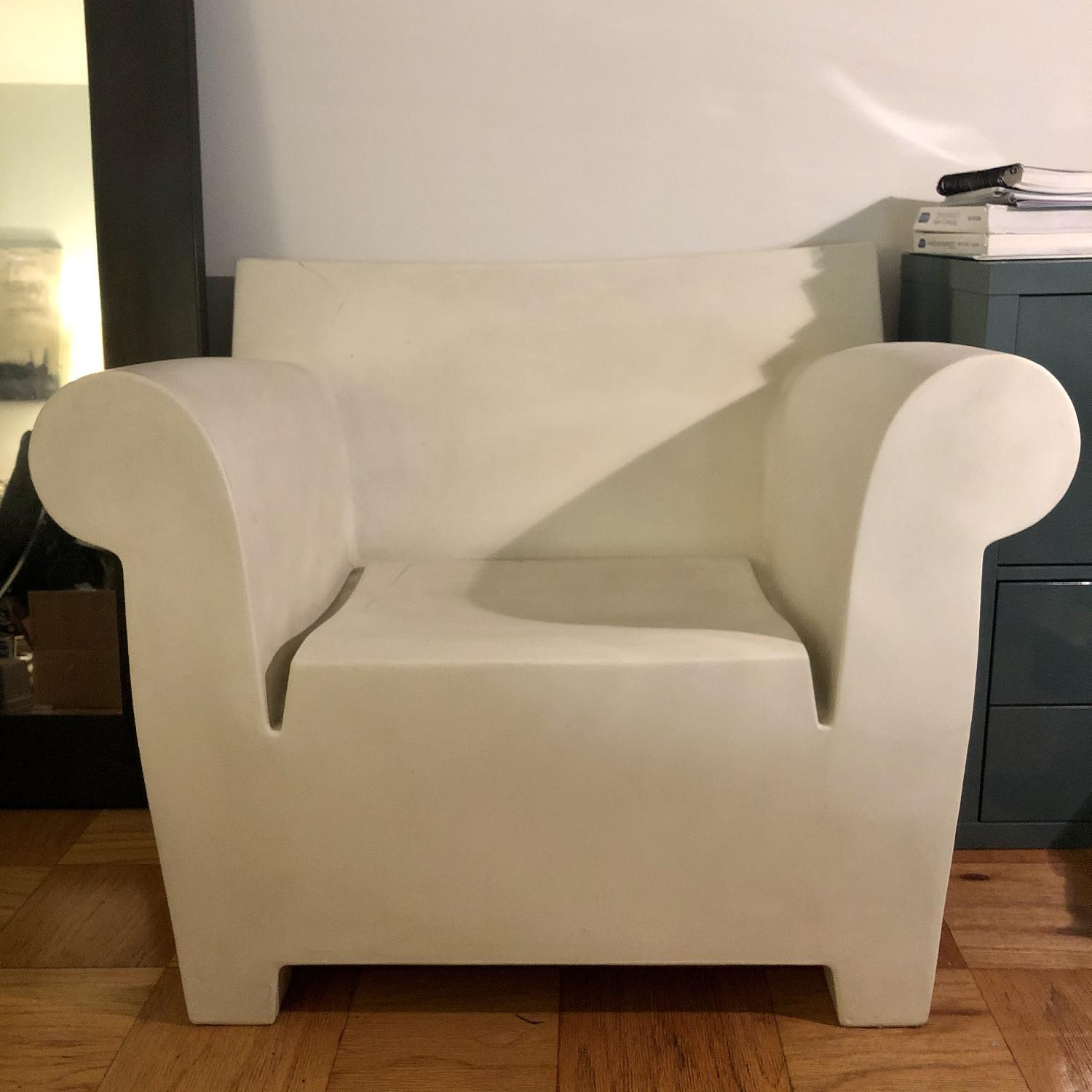 Philippe Starck White Bubble Chair - image-1