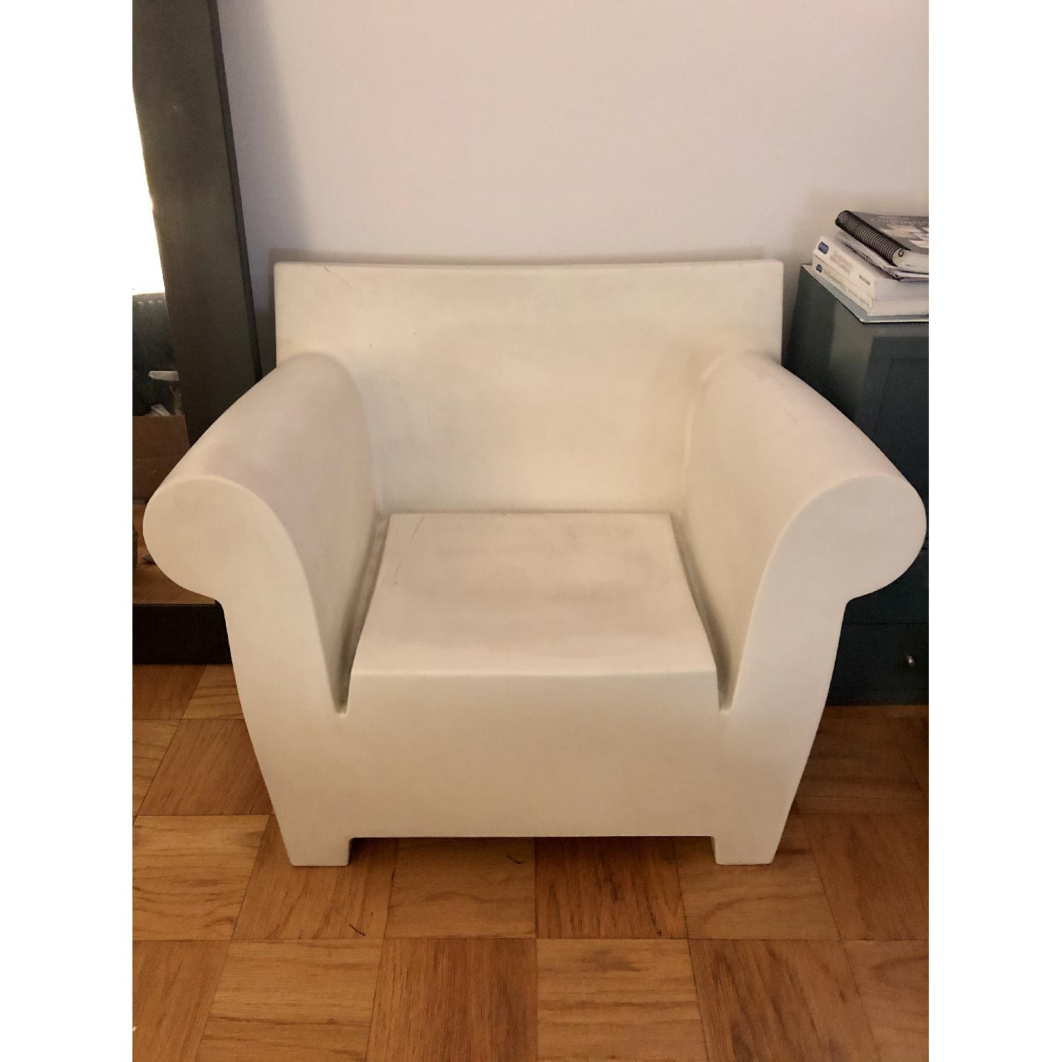 Philippe Starck White Bubble Chair - image-3
