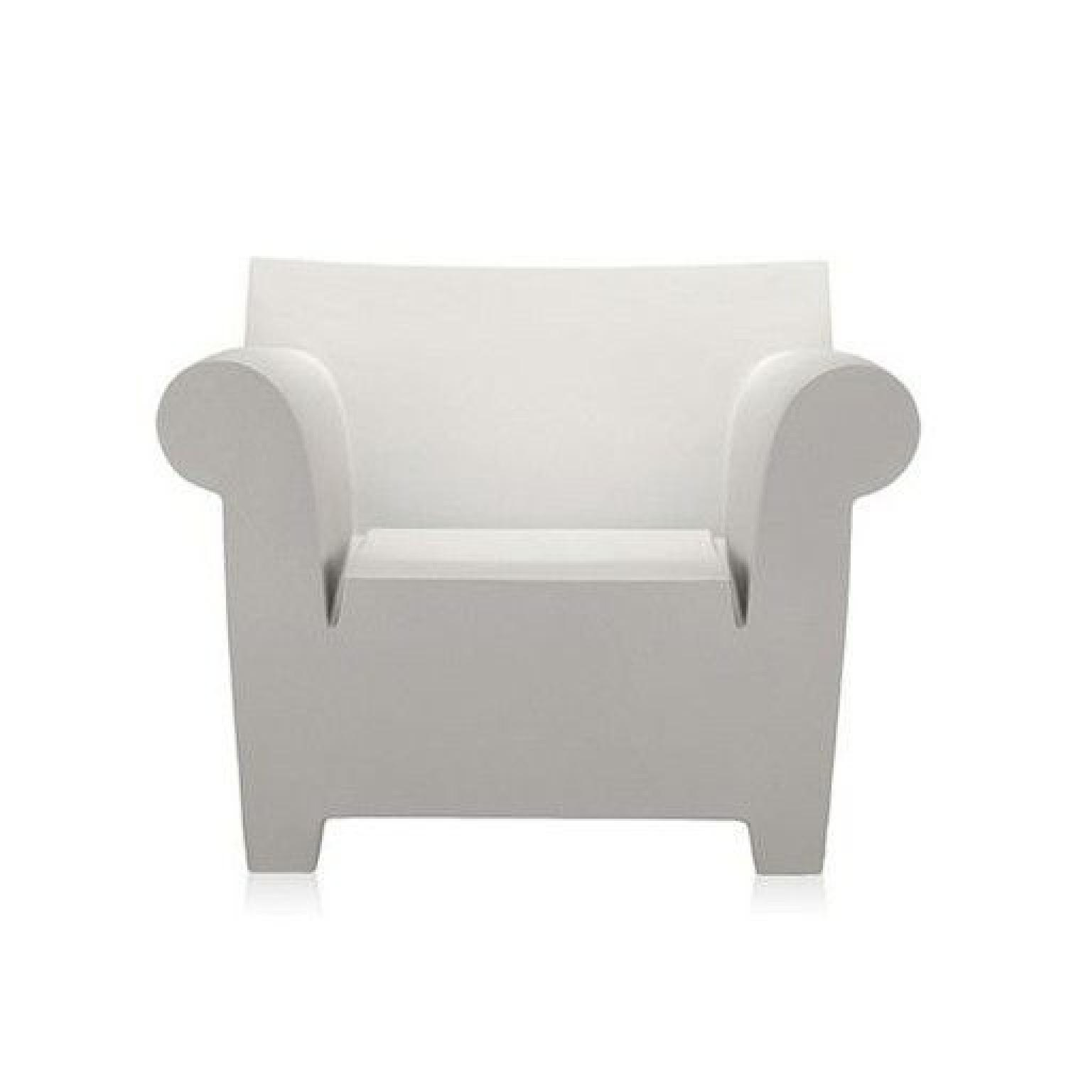 Philippe Starck White Bubble Chair - image-0