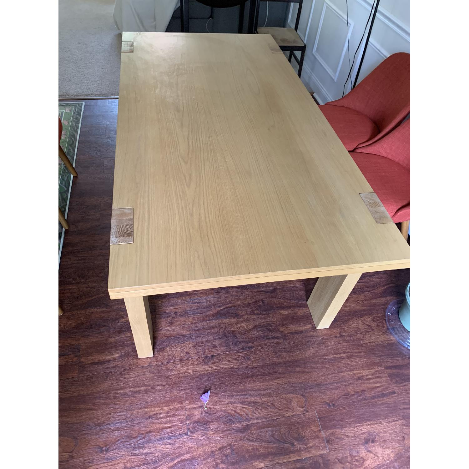 West Elm Wood Dining Table - image-2