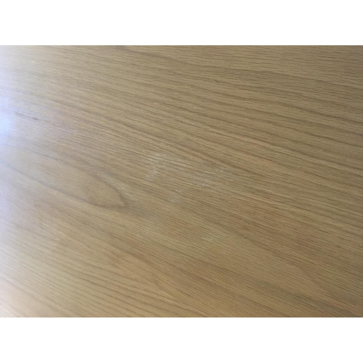 West Elm Wood Dining Table - image-3