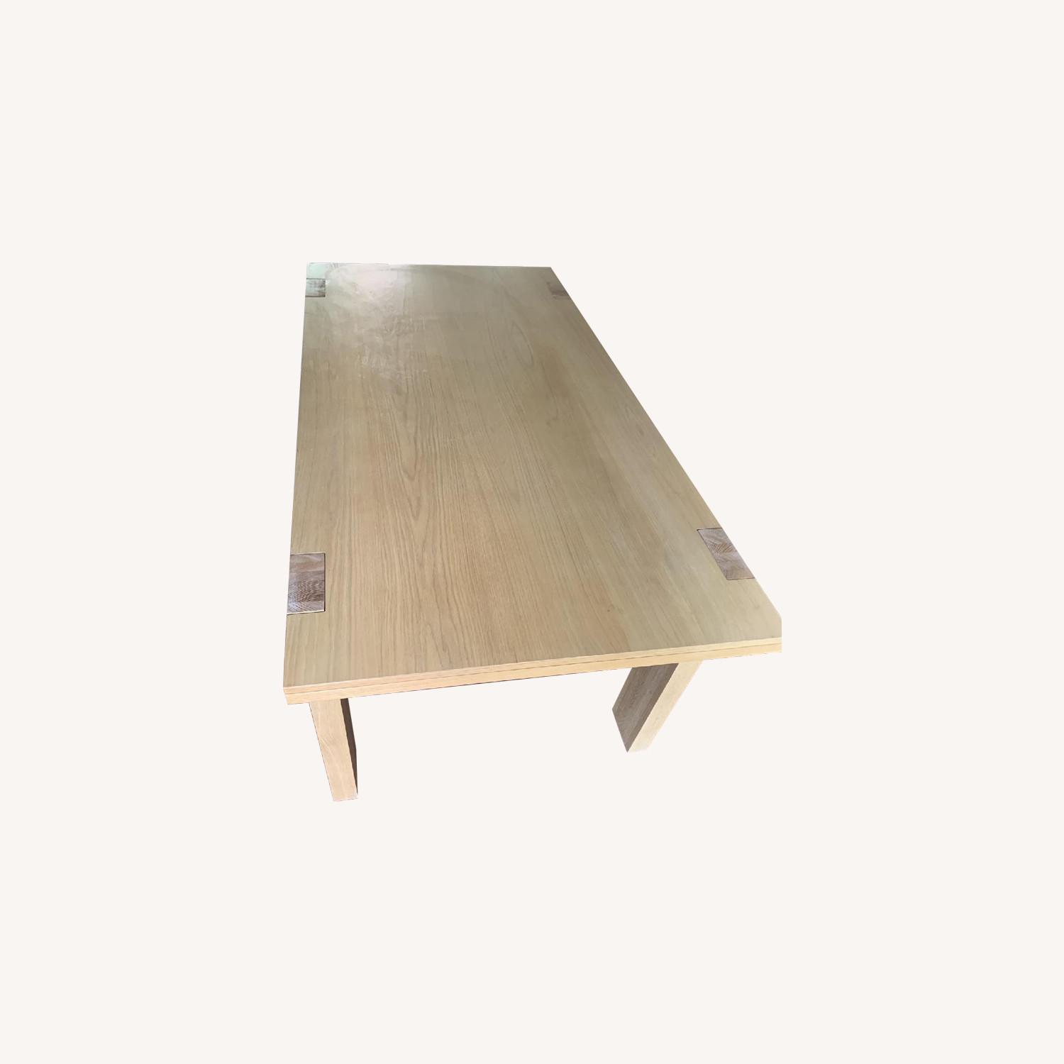 West Elm Wood Dining Table - image-0