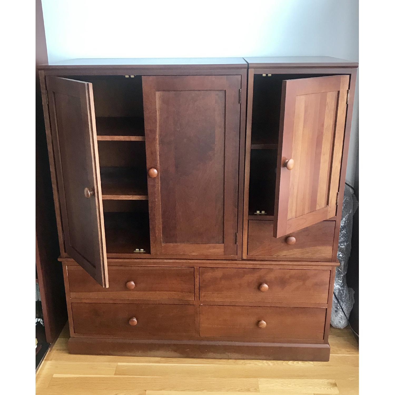 Ethan Allen Stacking Storage Cabinet - image-4