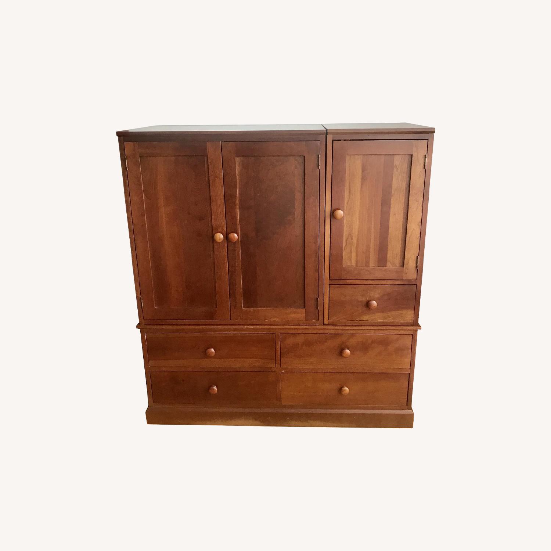 Ethan Allen Stacking Storage Cabinet - image-0