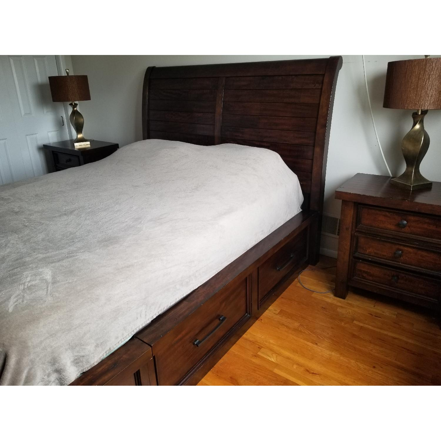 Queen Storage Bed Frame - image-3