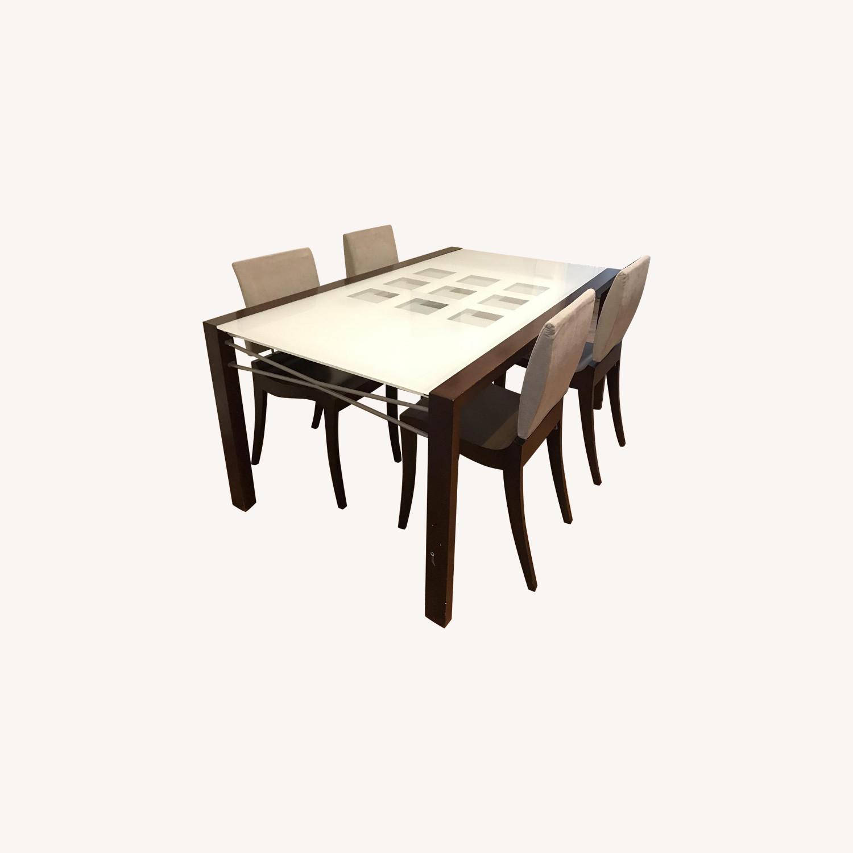 Ligne Roset 5-Piece Dining Set - image-0