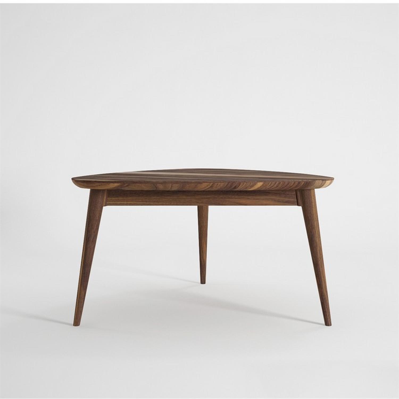 Ion Design Vintage Tripod Walnut Coffee Table - image-1