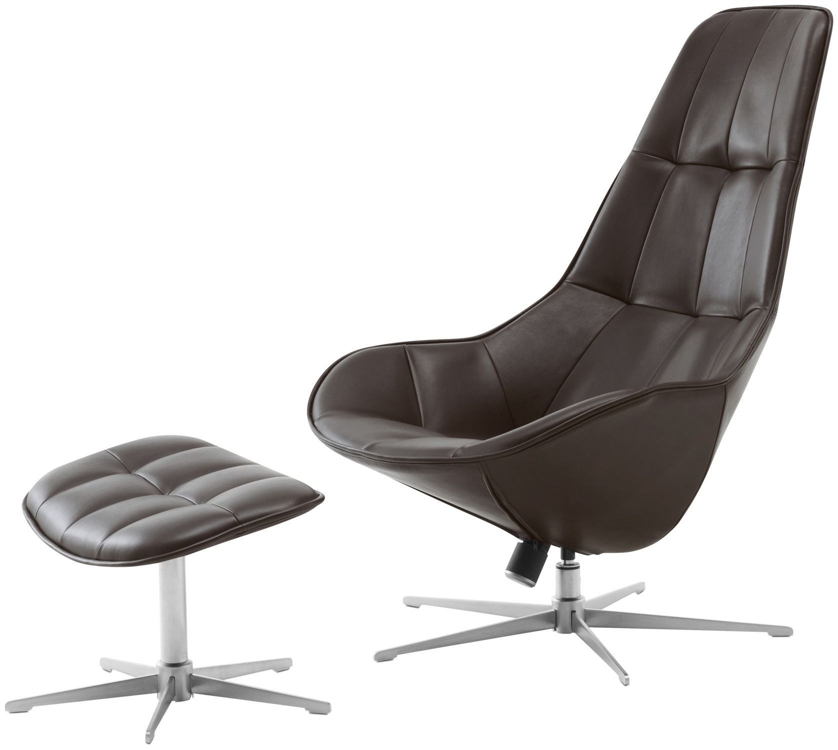 BoConcept Boston Chair & Footstool