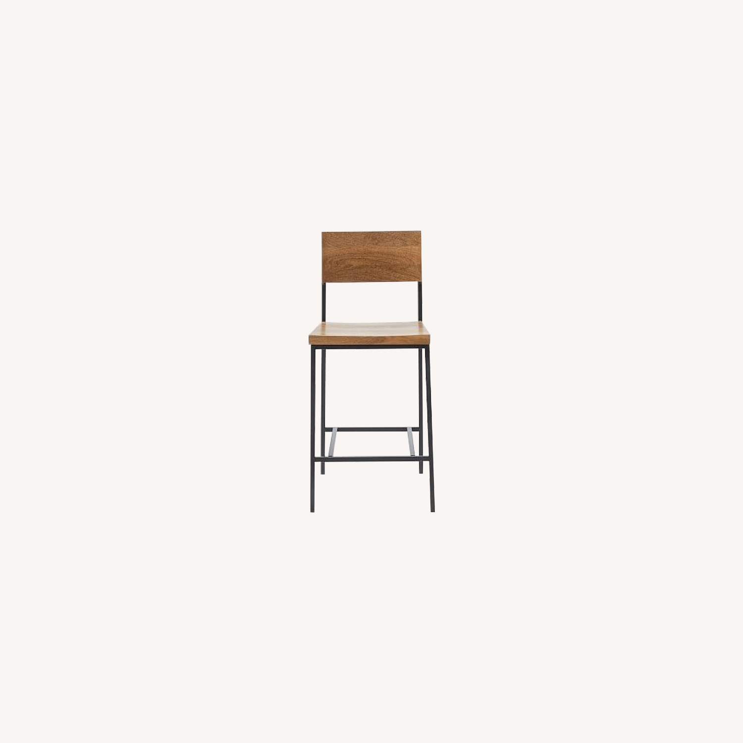West Elm Rustic Counter Height Stool
