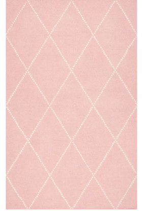 Mack & Milo Pink Diamond Area Rug