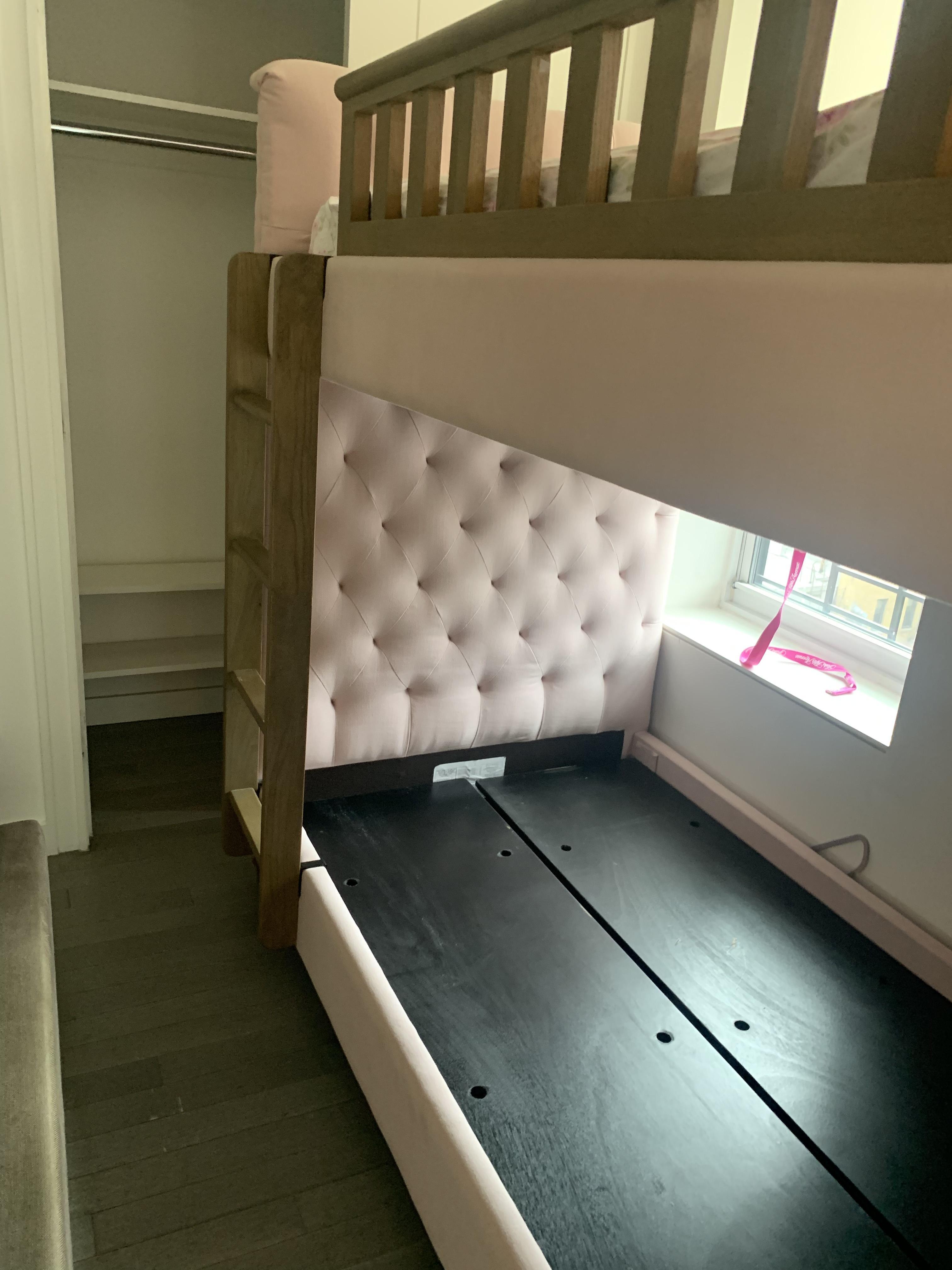Restoration Hardware Pink Bunk Bed