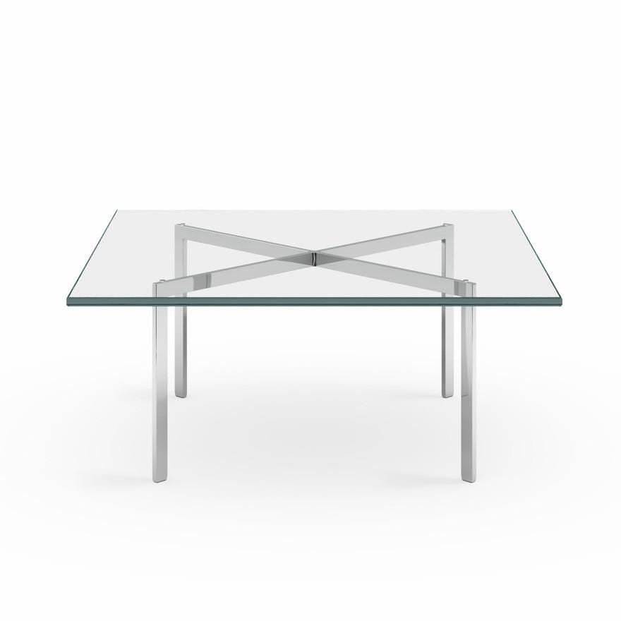 Knoll Mies Van Der Rohe's Barcelona Glass Table
