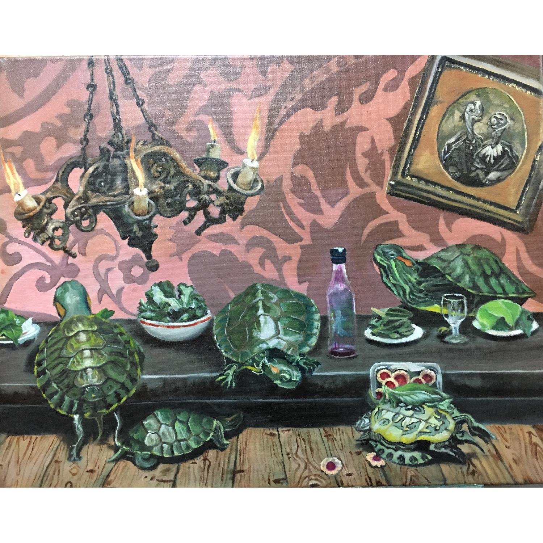 Leslie Lee - Original Oil Painting on Canvas - image-0
