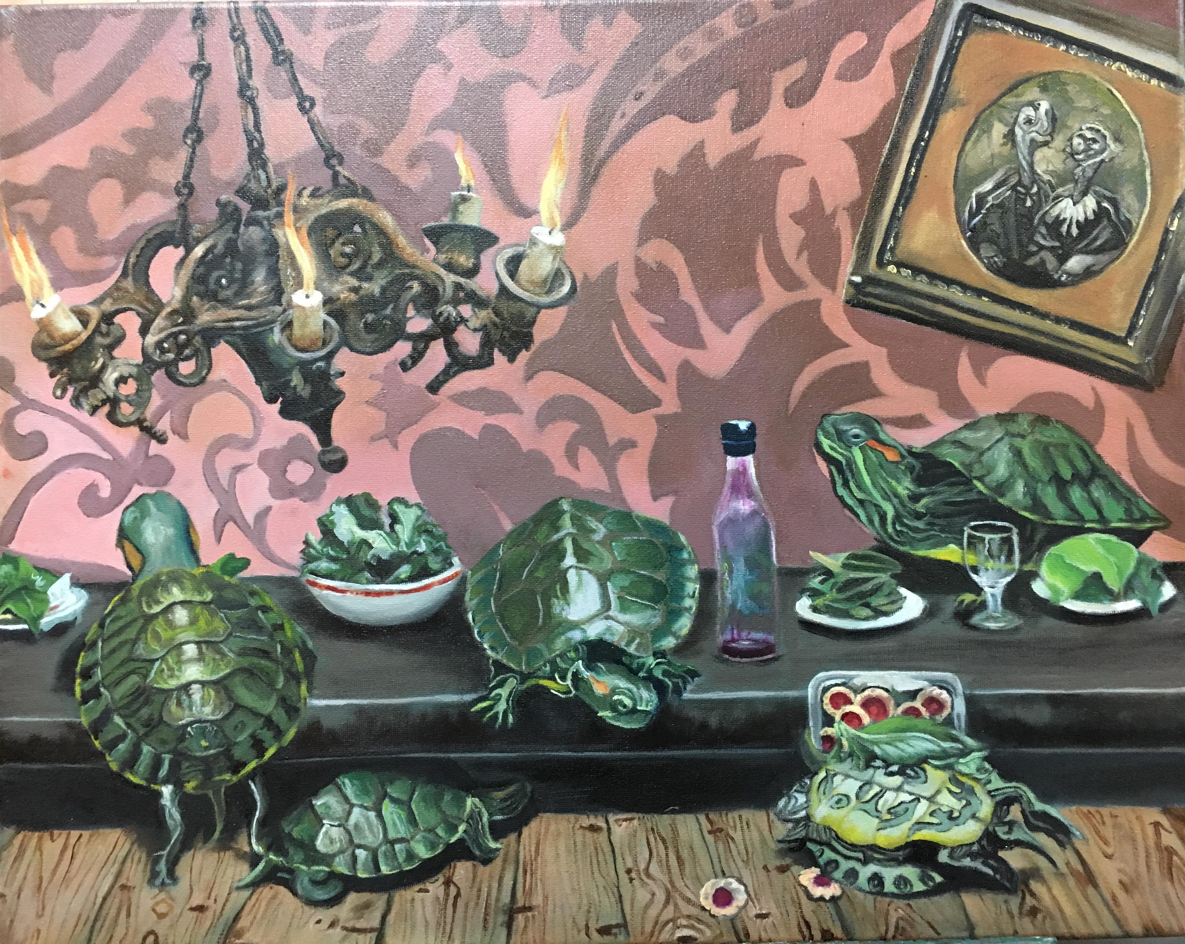Leslie Lee - Original Oil Painting on Canvas
