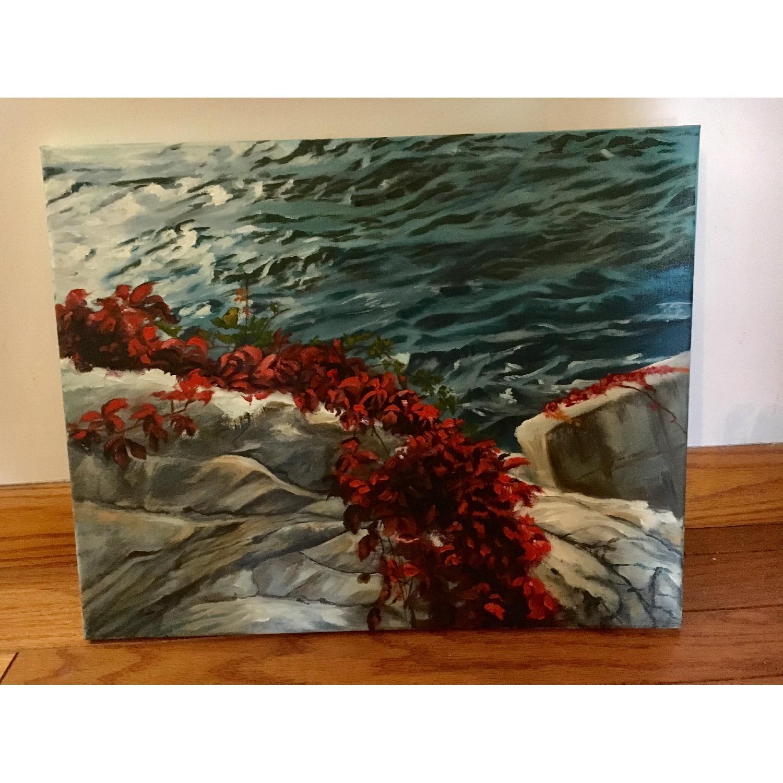 Leslie Lee - Oil Painting of Landscape - image-1