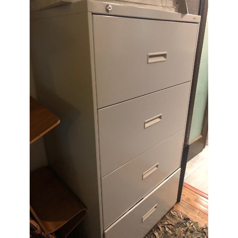 Hon 600 Series Metal 4-Drawer Lateral File Storage - image-3