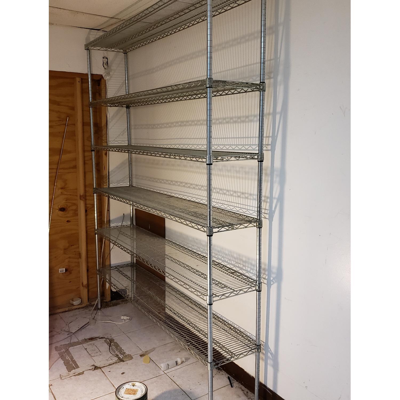 Honey-Can-Do Metal Shelving Unit - image-1
