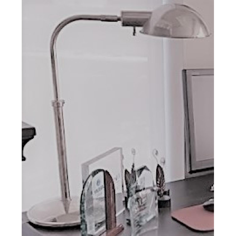 Restoration Hardware Polished Nickel Pharmacy Table Lamps - image-3