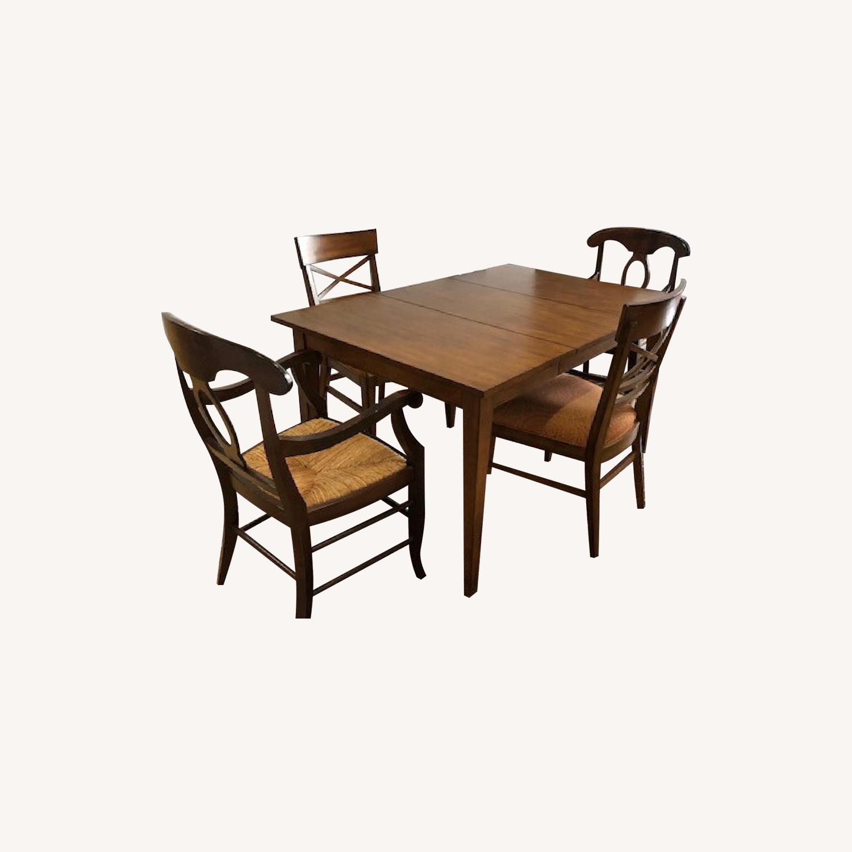 Ethen Allen 3-Piece Extendable Dining Set