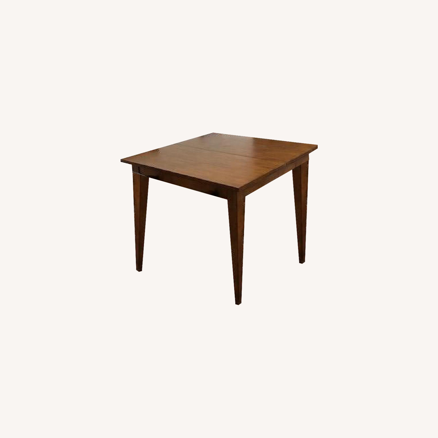 Ethan Allen Extendable Wood Dining Table