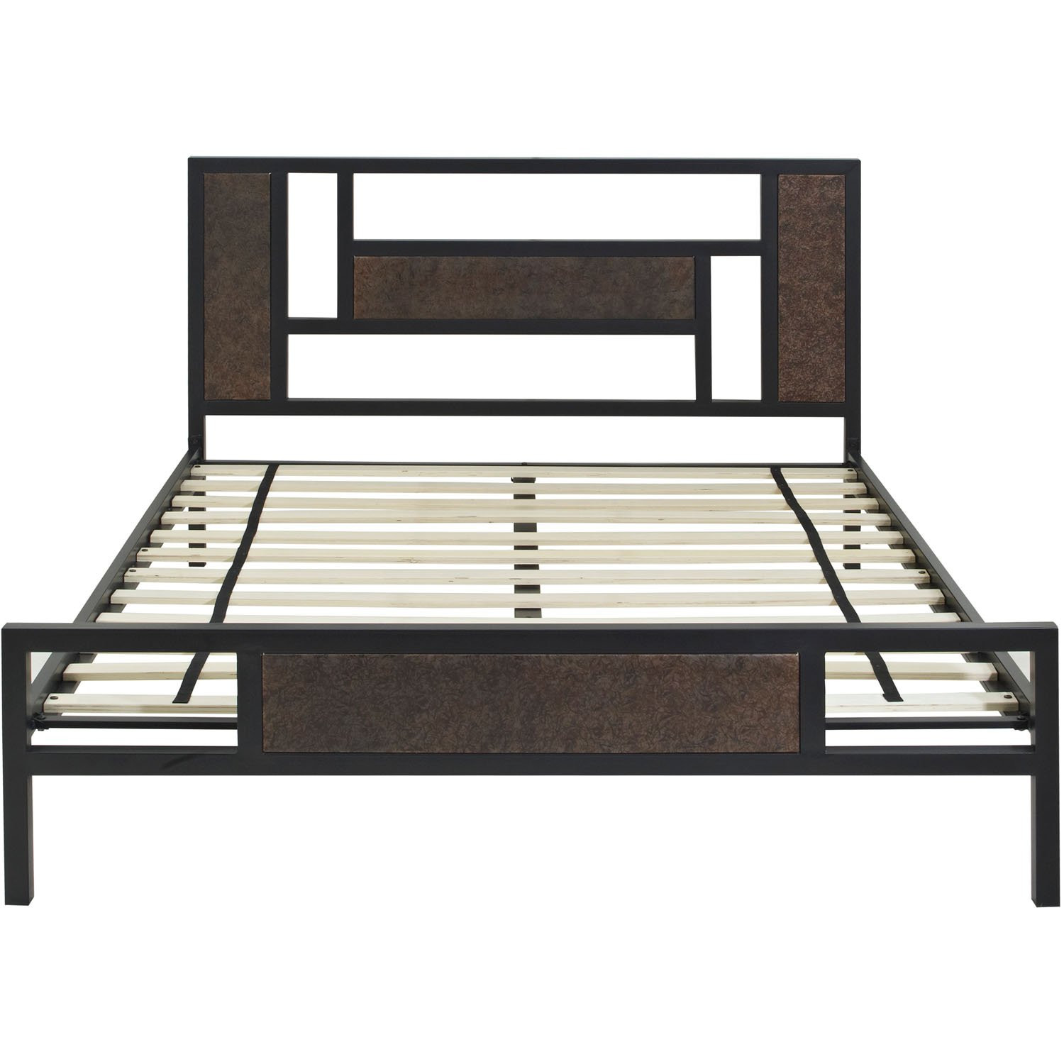 Hyde Park Metal Platform Full Bed Frame