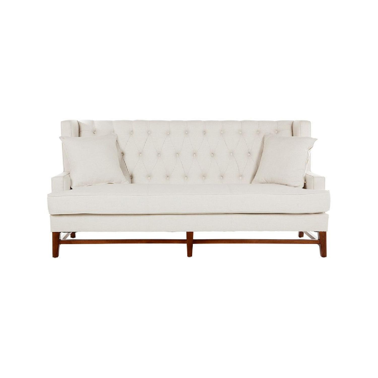 France and Son Winston Tufted Sofa - image-0