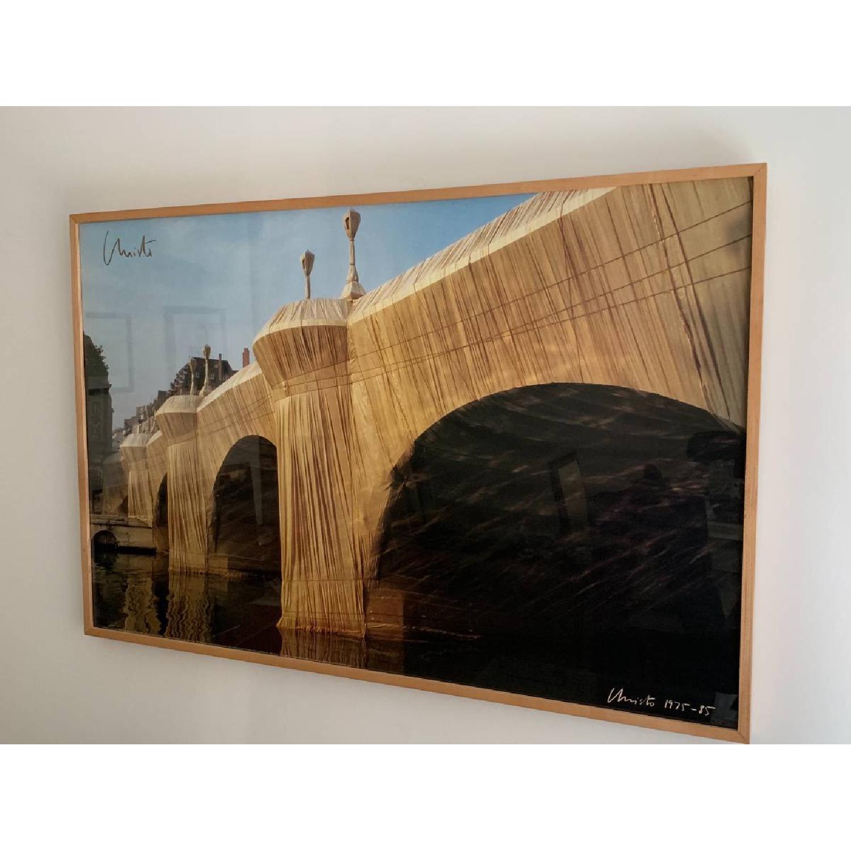 Signed & Framed Christo Print - image-0