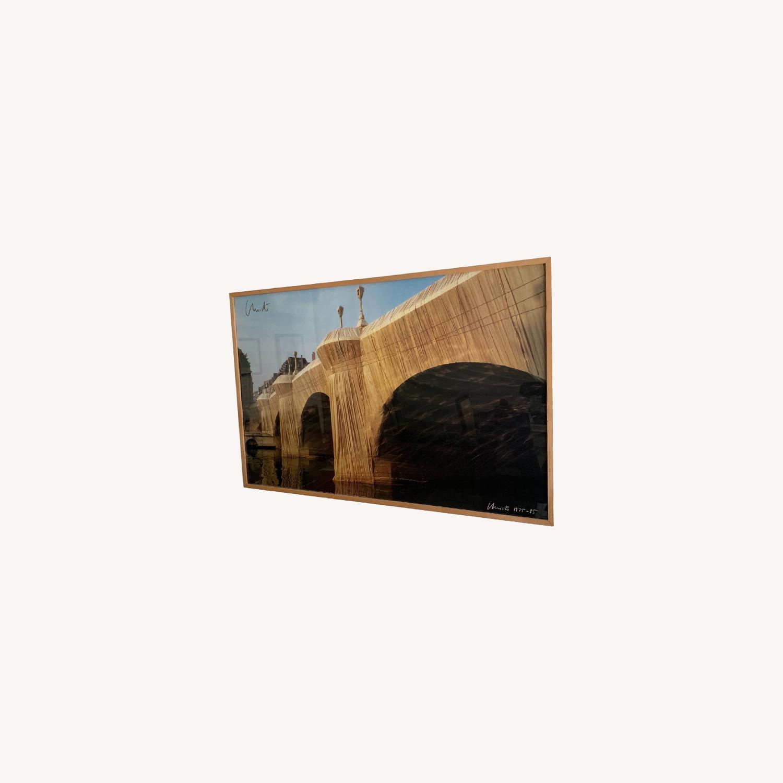 Signed & Framed Christo Print