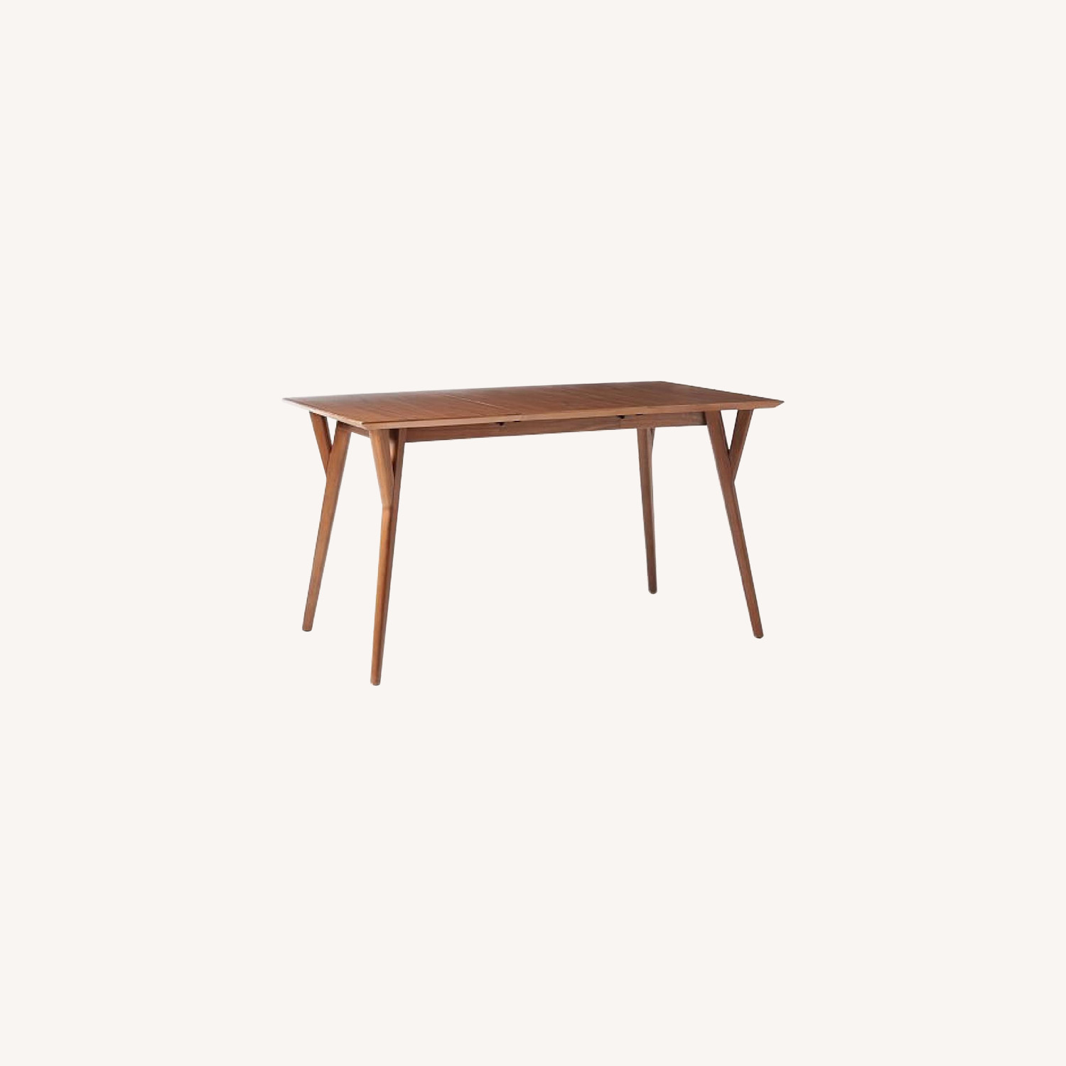 West Elm Mid-Century Expandable Dining Table in Walnut