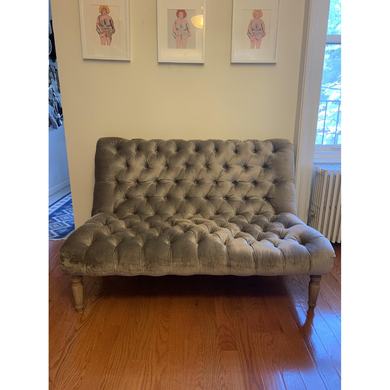 ABC Carpet and Home Cobble Hill Lorraine Armless Loveseat - image-1