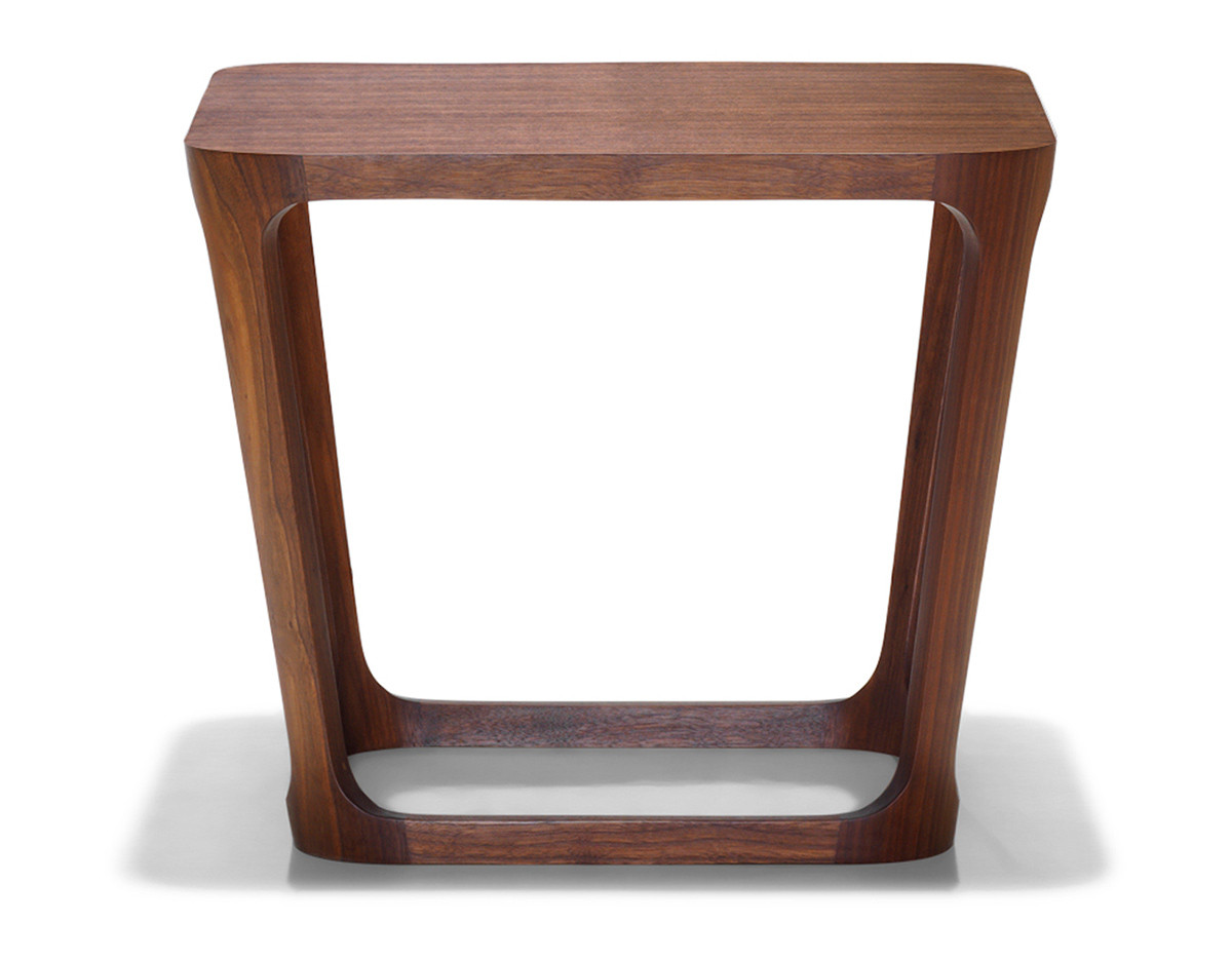 Berhardt Design Walnut Side Tables by Marc Thorpe
