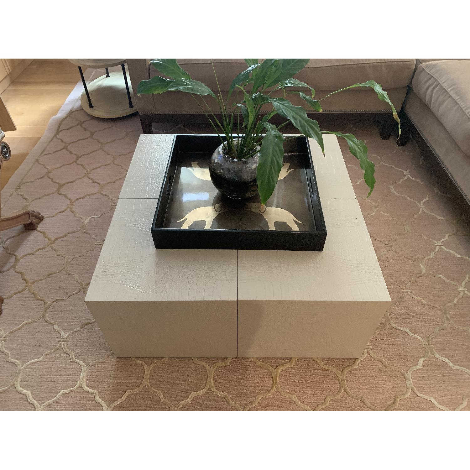 Artistic Frame Custom Made 4 Cubed Coffee Table - image-3
