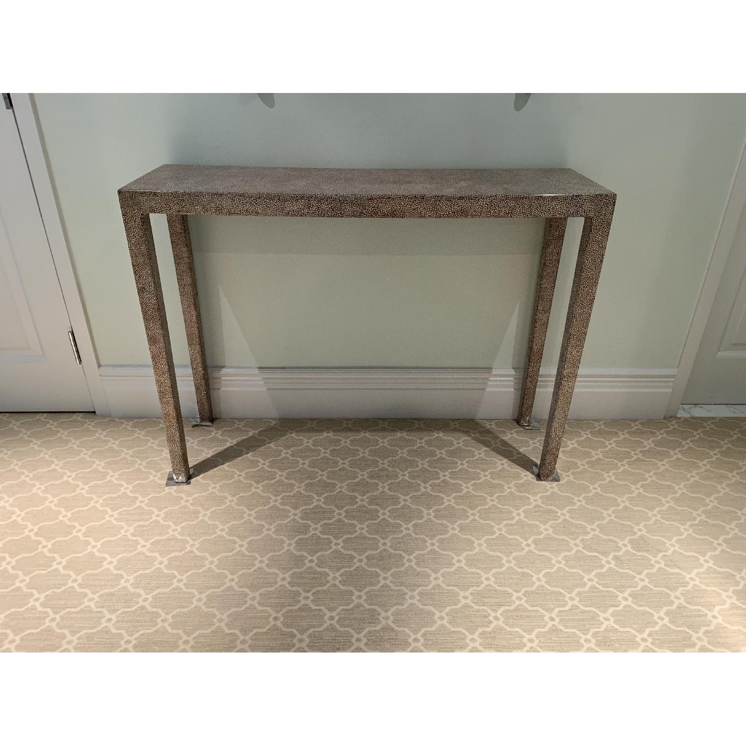 Wood Entry Table - image-1