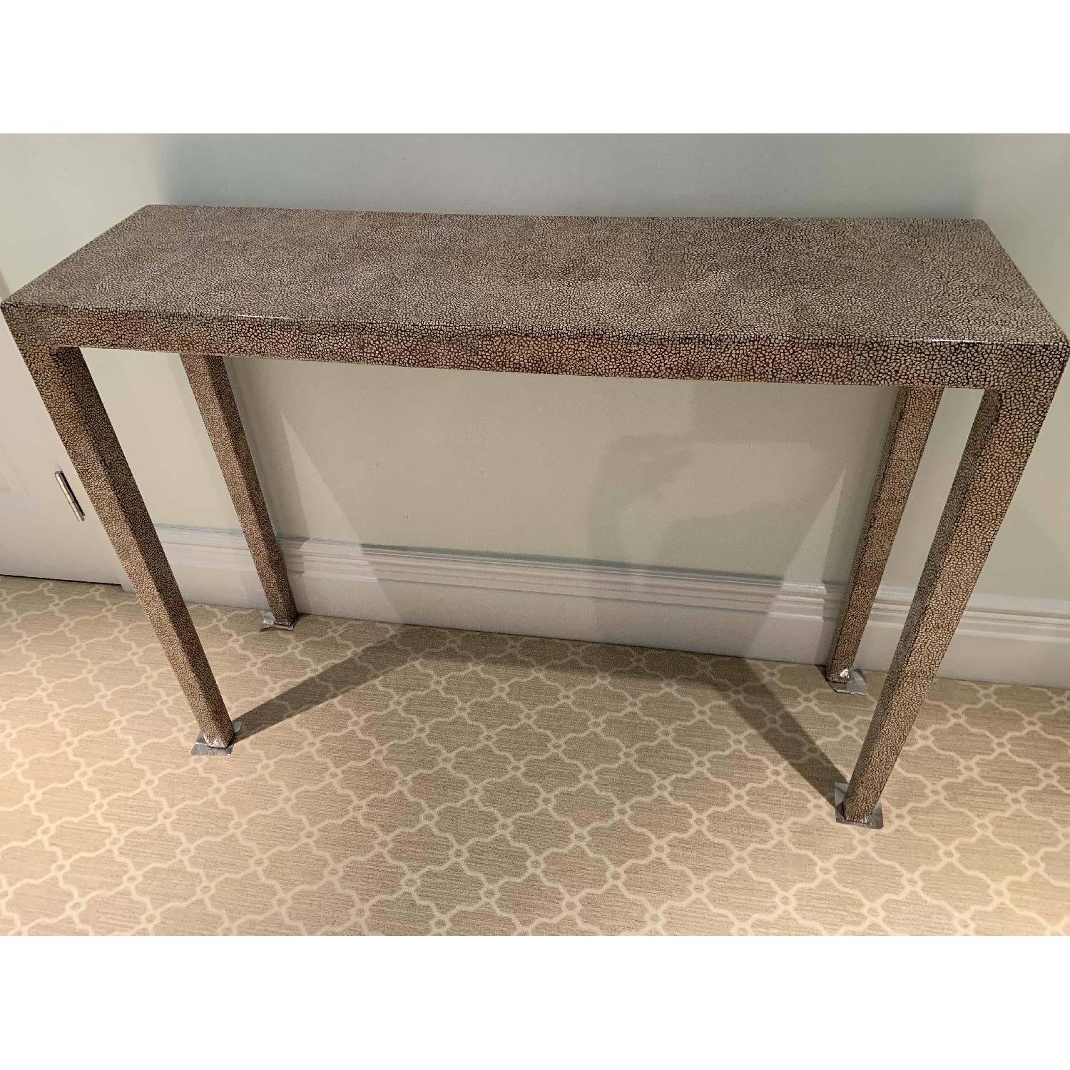 Wood Entry Table - image-2