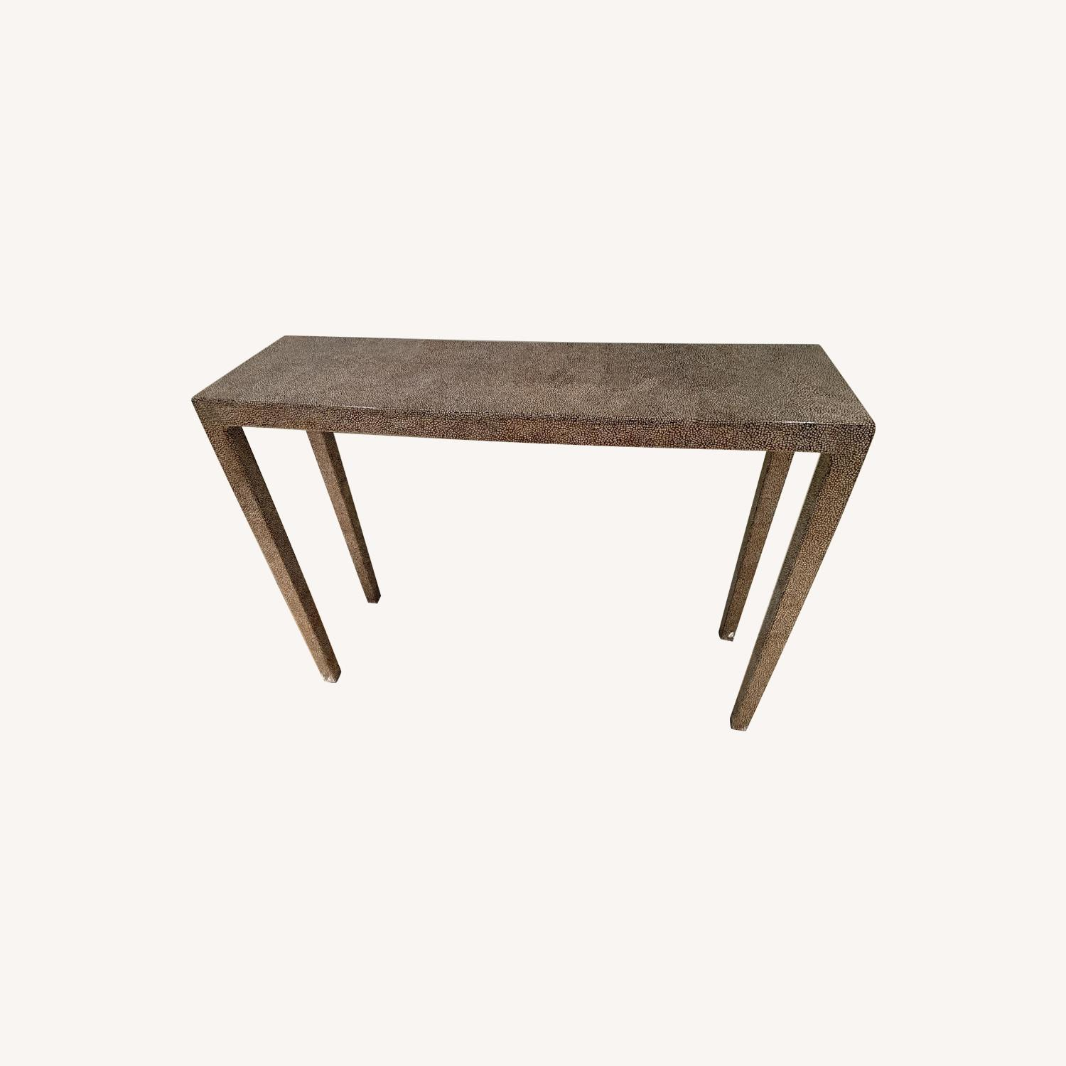Wood Entry Table - image-0