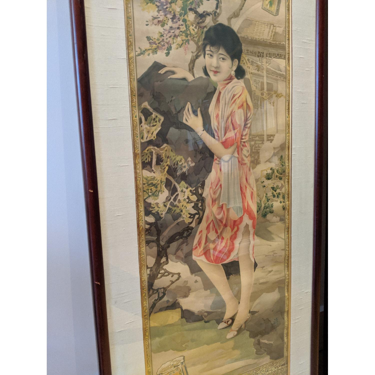 Vintage 1930s Silk Chinese Ads - image-2