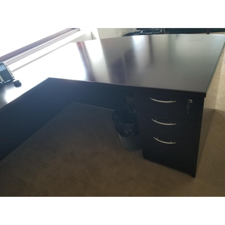 Solid Wooden Work Desk - image-1