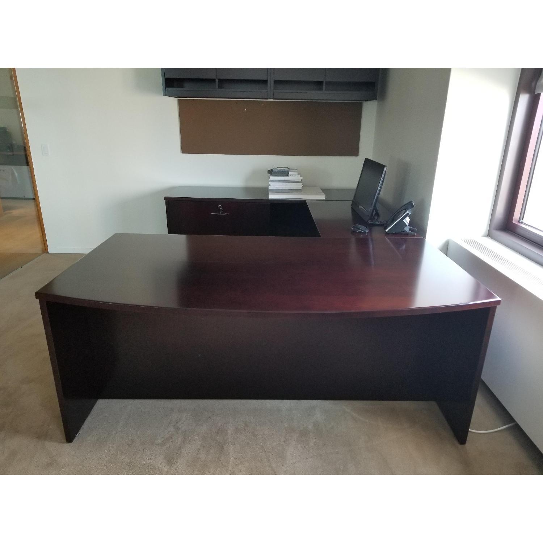 Solid Wooden Work Desk - image-2
