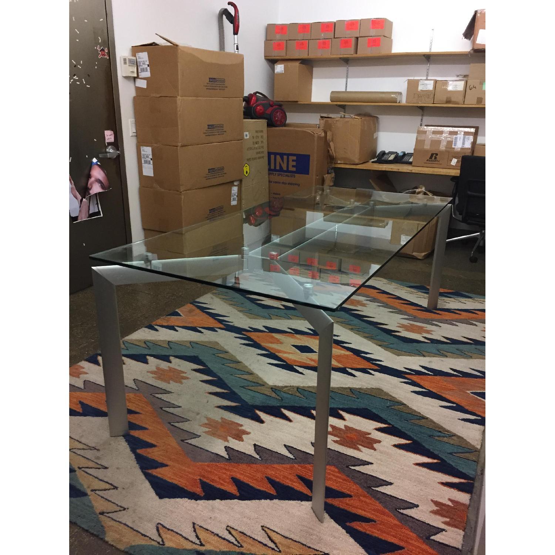 Glass Top Table w/ Metal Legs - image-6