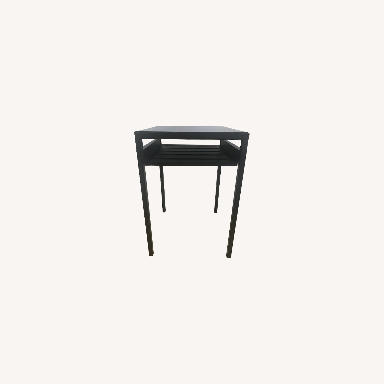 West Elm Metal Side Table