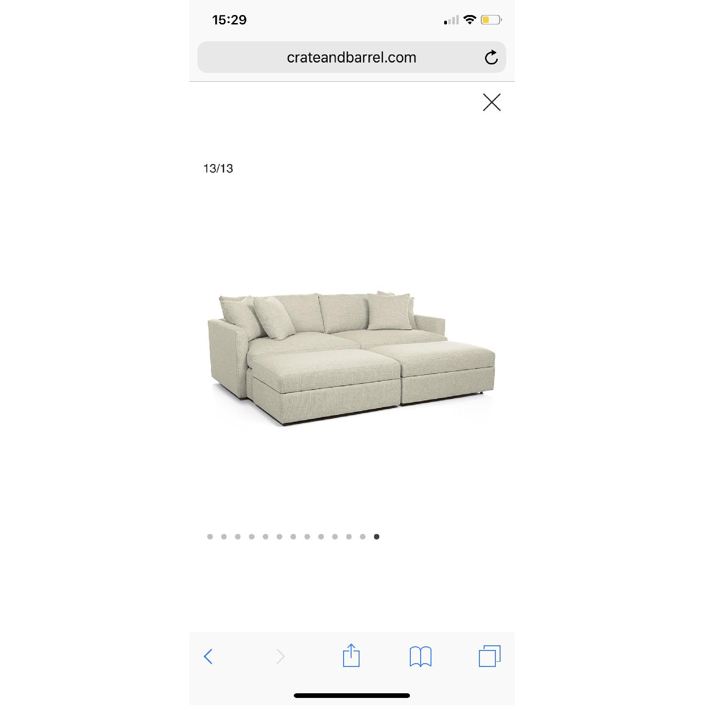 Crate & Barrel Lounge II Sofa - image-1