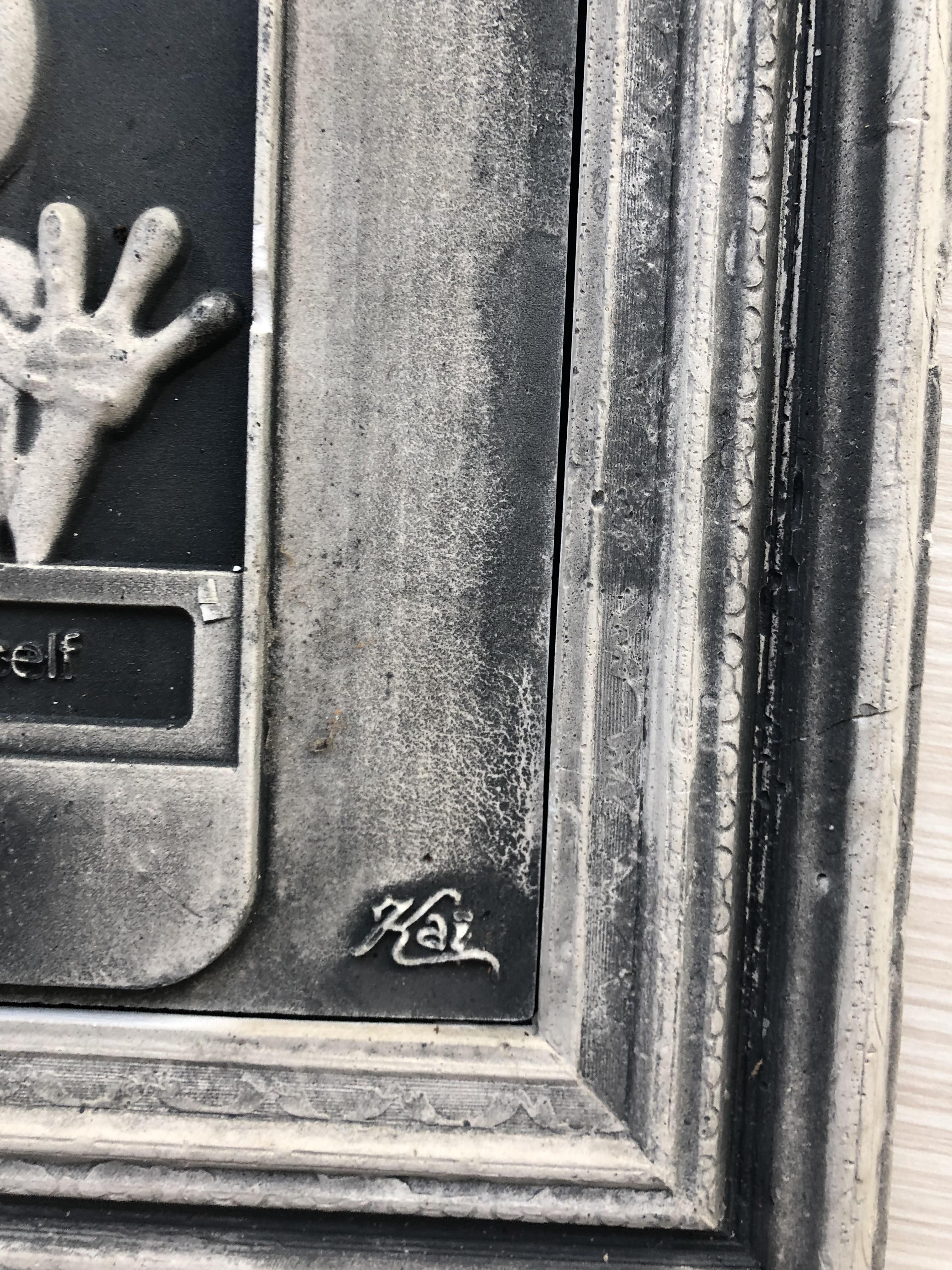 KAI Aspire Cement Technology Sculpture