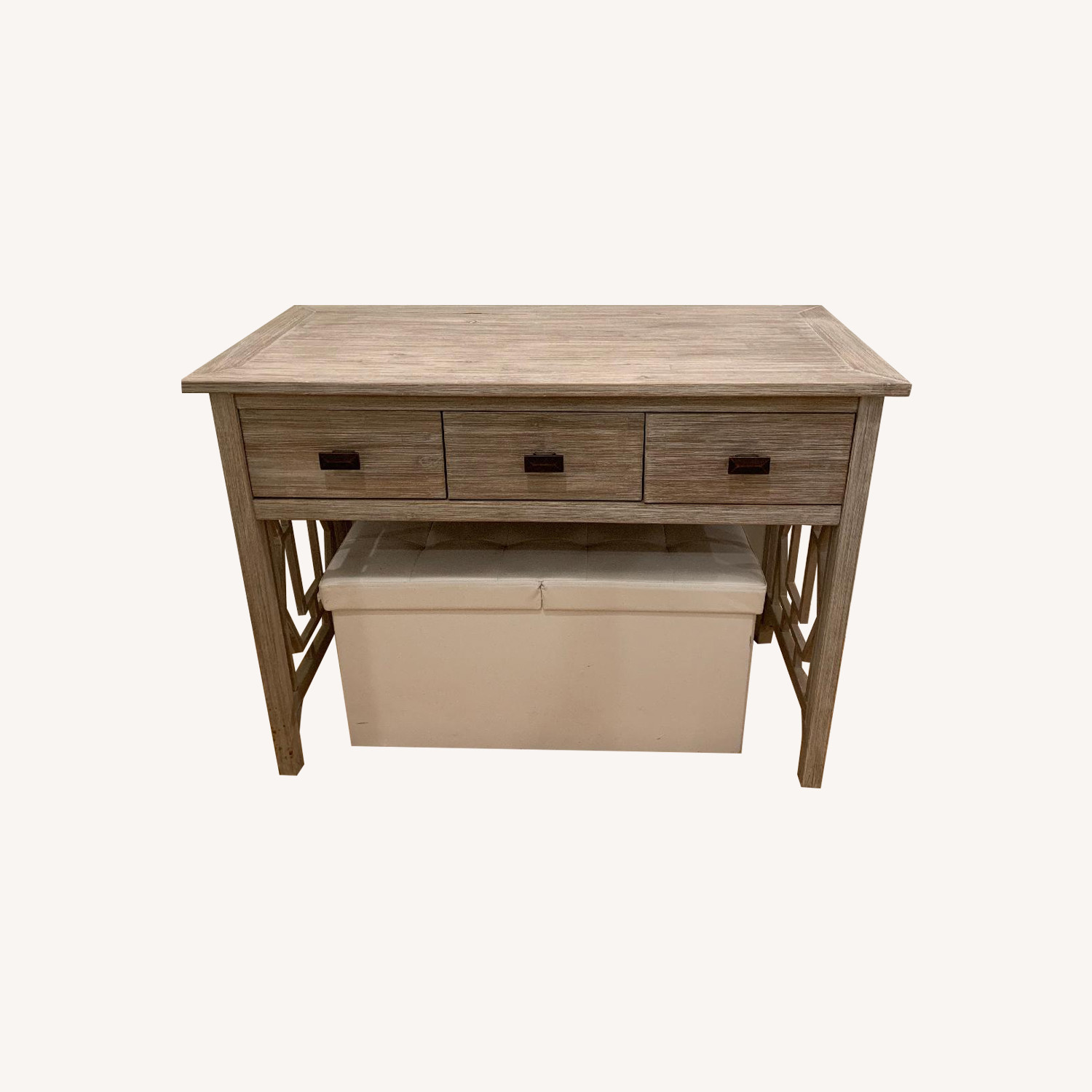 Home Goods Natural Wood Console Table
