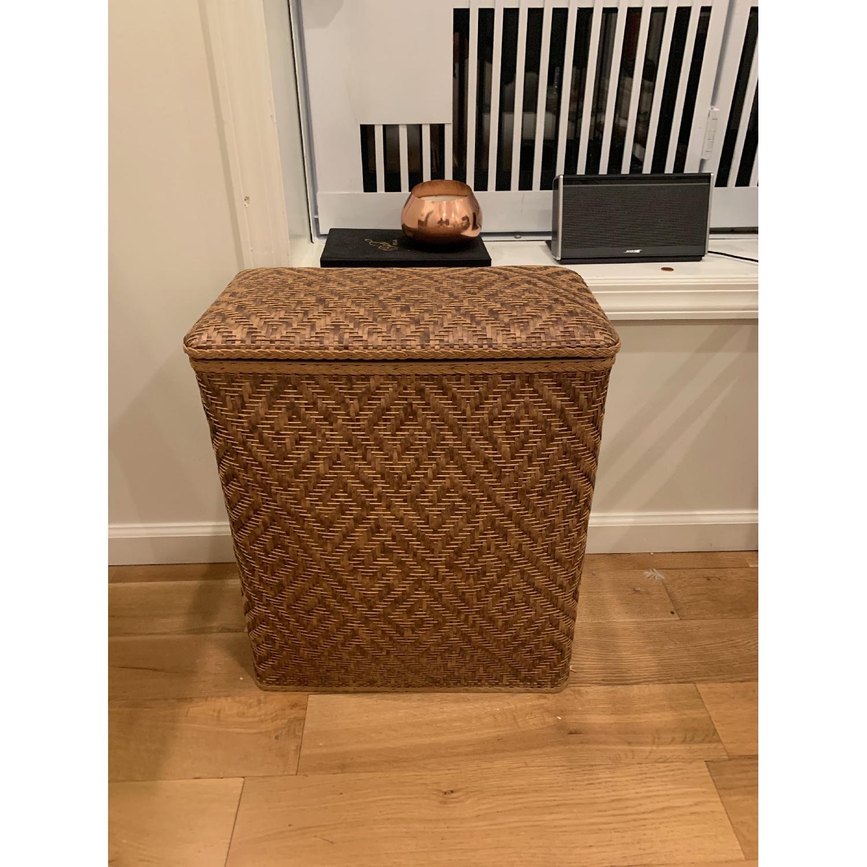 Target Natural Wicker Laundry Basket - image-1