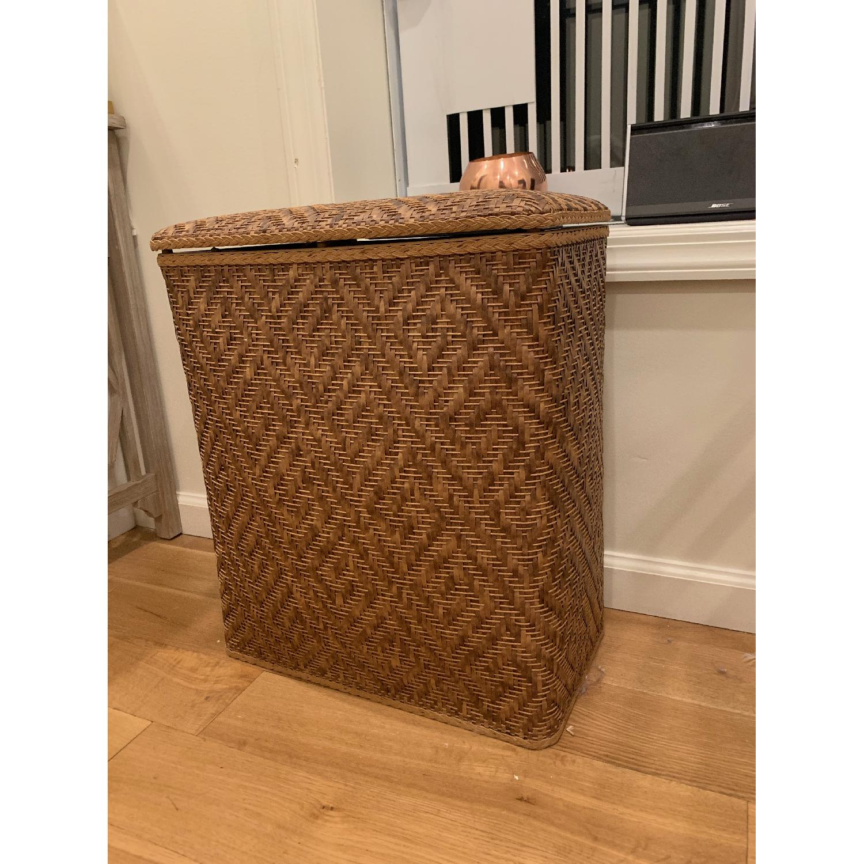 Target Natural Wicker Laundry Basket - image-2