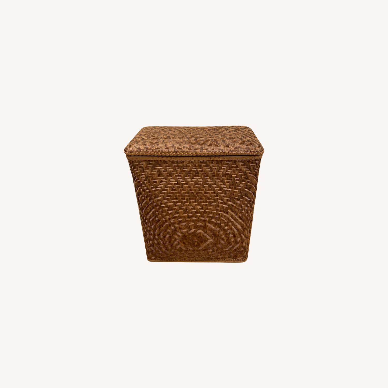 Target Natural Wicker Laundry Basket - image-0