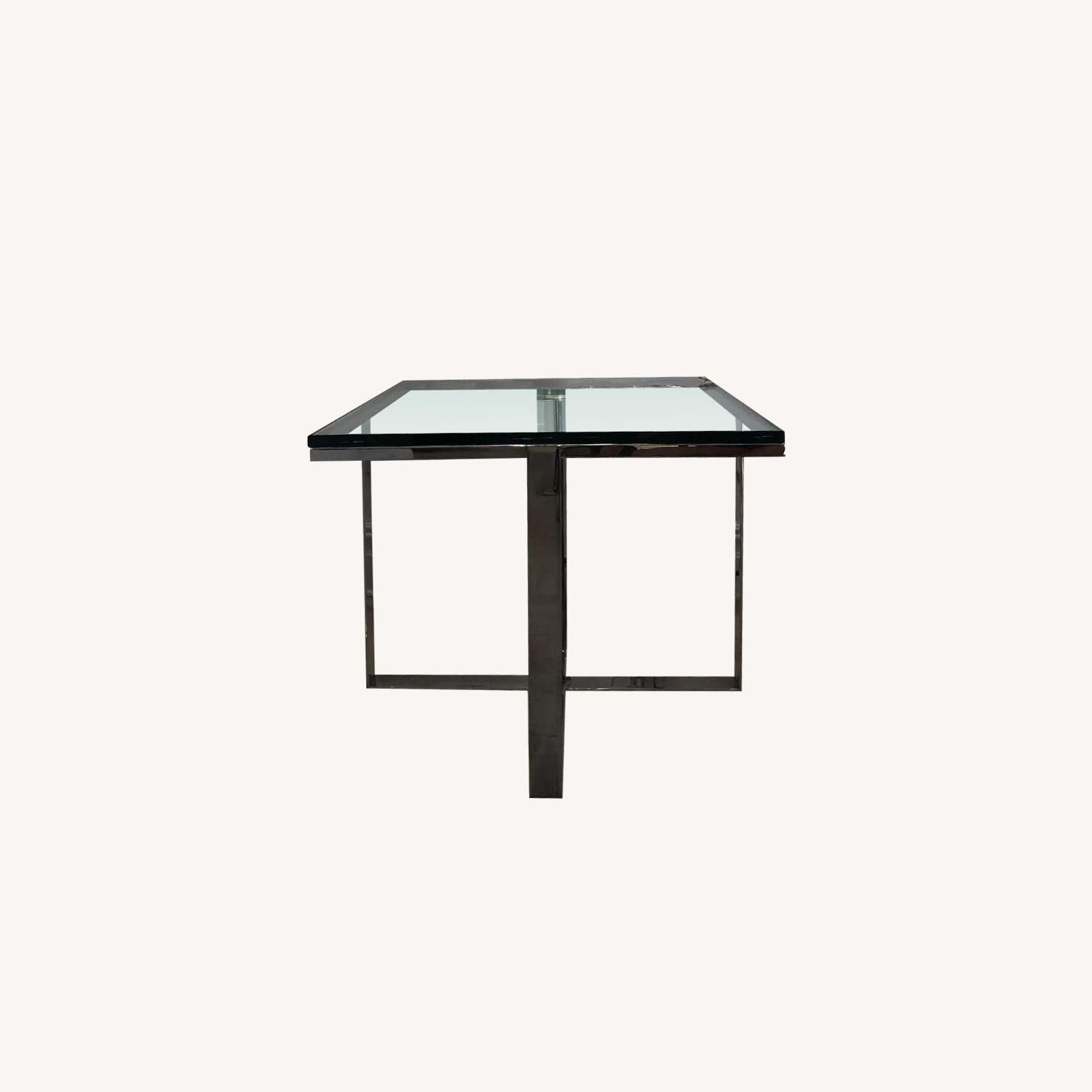 Artefacto Glass/Steel Side Table - image-0