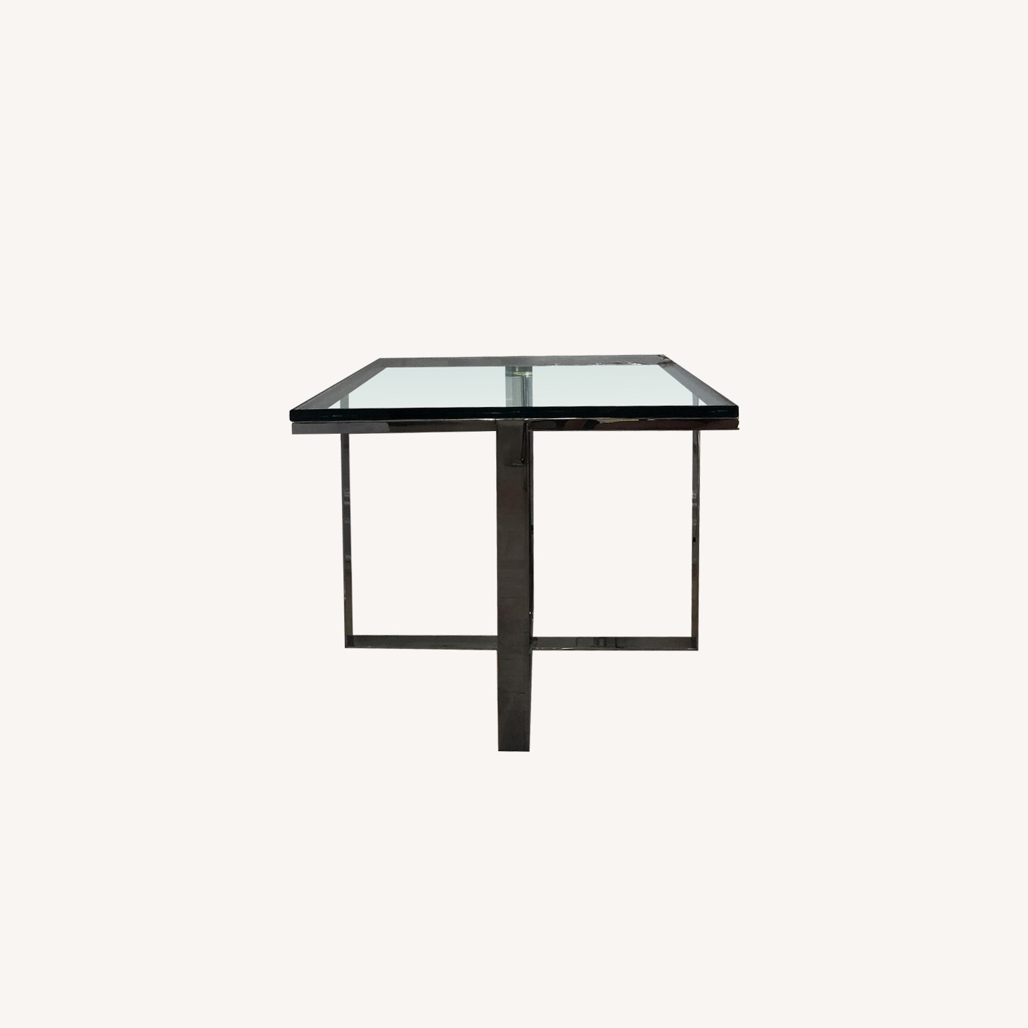 Artefacto Glass/Steel Side Table